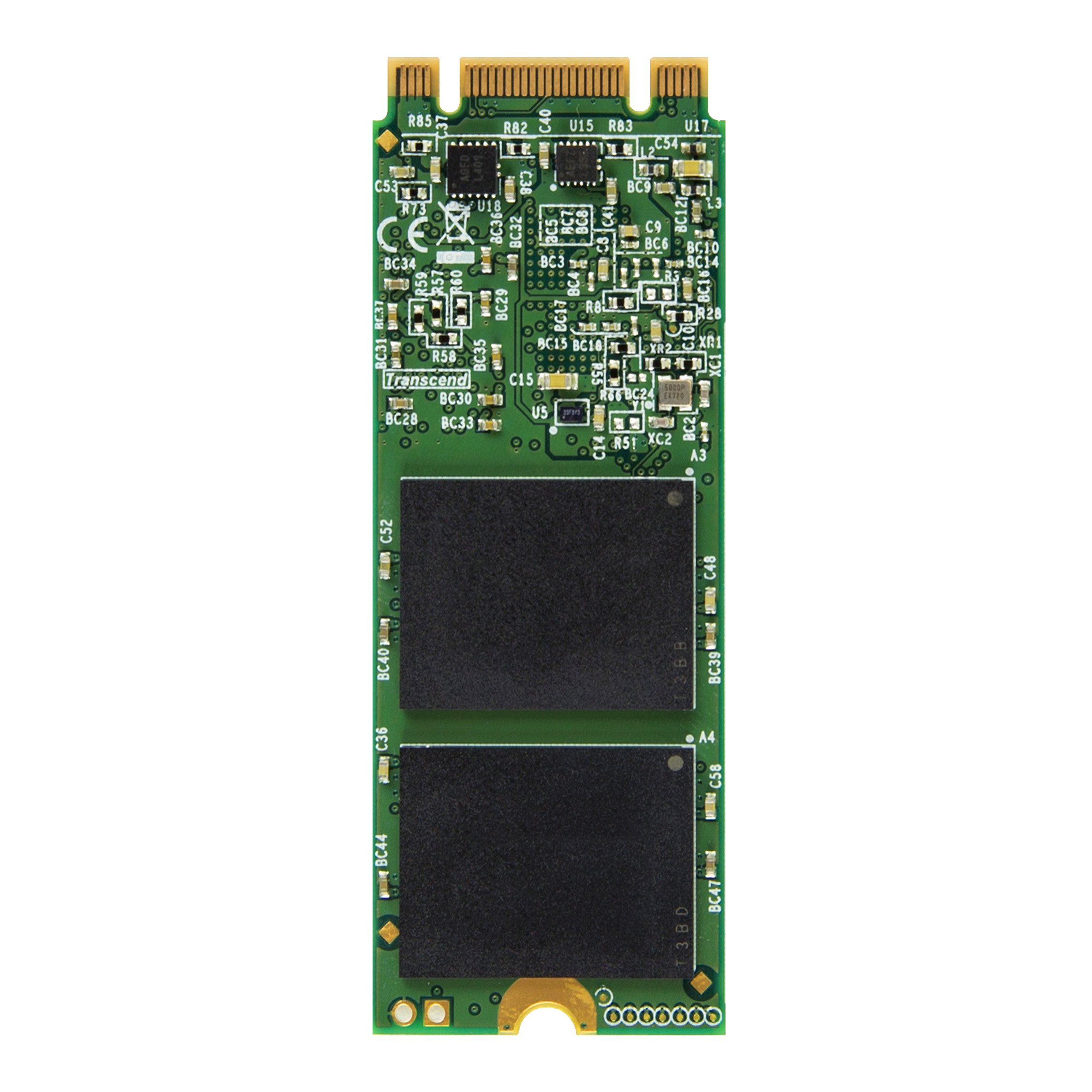 Transcend 256 GB SATA III MTS600 60 mm M.2 SSD (TS256GMTS600) by Transcend (Image #2)