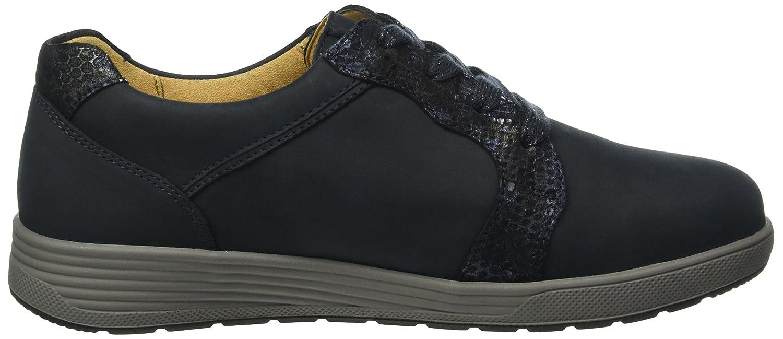 Ganter Damen Sensitiv Klara, Weite (Navy K Derby Blau (Navy Weite / Ocean 3130) e01136