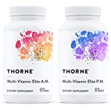 Thorne Research - Multi-Vitamin Elite - A.M. and P.M. Formula to Support a High-Performance Nutrition Program - NSF Certified