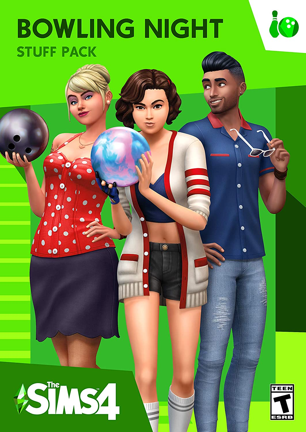 The Sims 4 Bowling Night Stuff [Online Game Code]