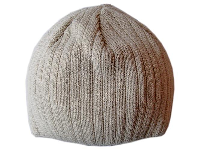 fafca9f9d75 Frost Hats Winter Hat for Men BEIGE Warm Winter Beanie Skully Fit Winter  Ski Hat Knitted