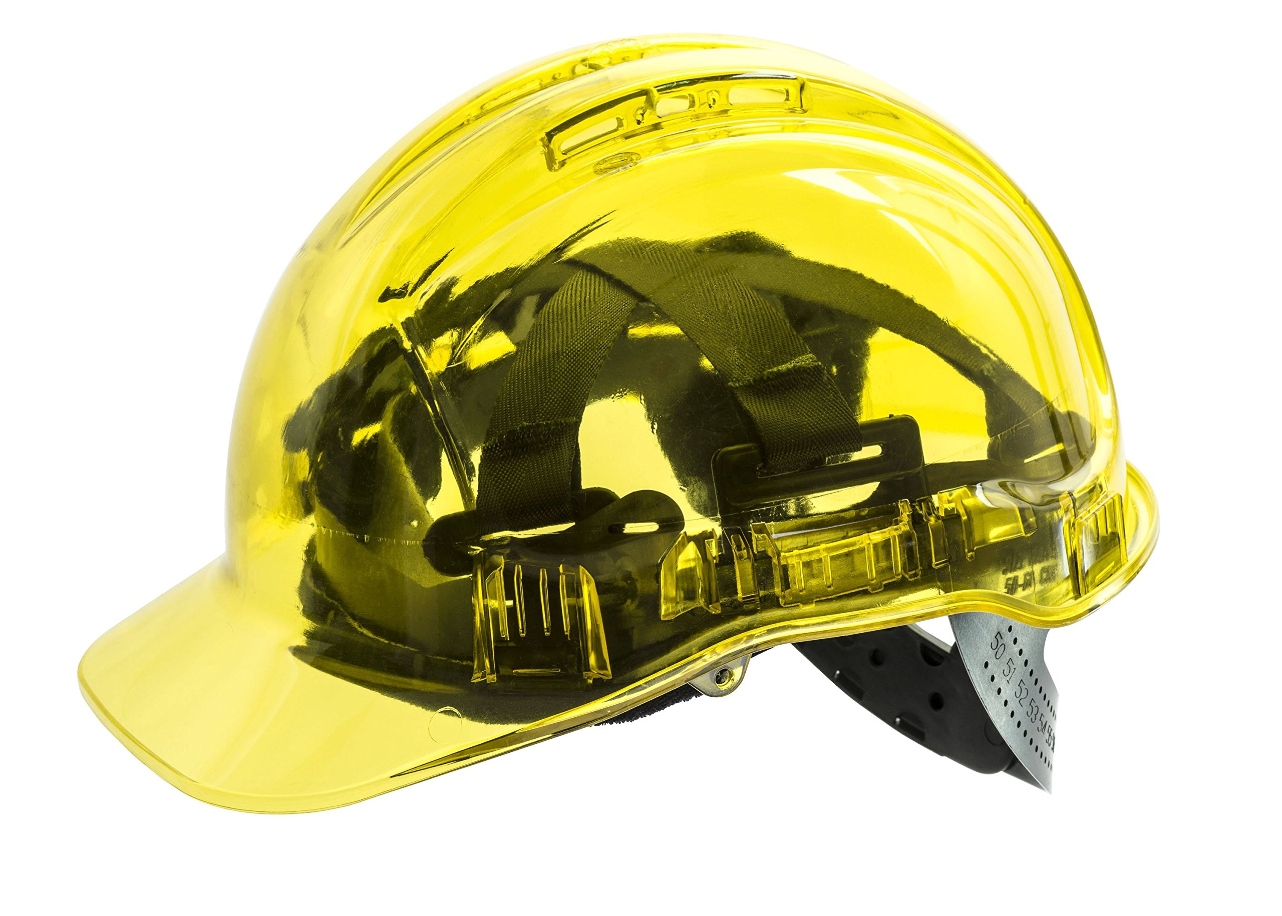 Portwest PV50 Peakview Vented Hard Hat (Yellow)