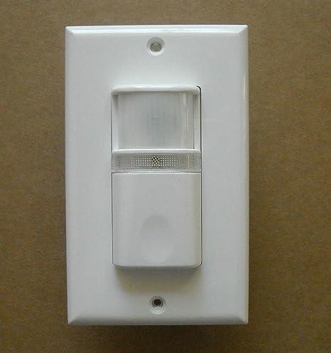 Amazon.com: Vacancy pared detector de sensor de movimiento ...