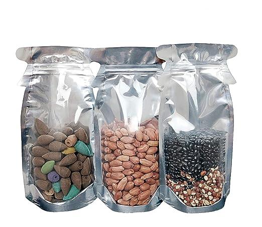 50 bolsas herméticas con cremallera, diseño único de ...