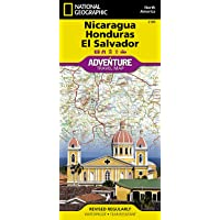 Nicaragua, Honduras, El Salvador Adventure Map
