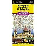 Nicaragua, Honduras, and El Salvador (National Geographic Adventure Map)