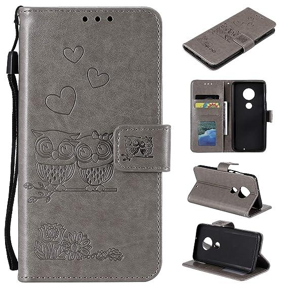 Amazon com: MOONESS Moto G7 Wallet Case,Moto G7 Plus Flip