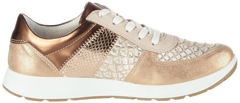 Jenny Glendale, Sneaker Donna, Bianco (Cloud,Silber/Rosegold 07), 36 EU