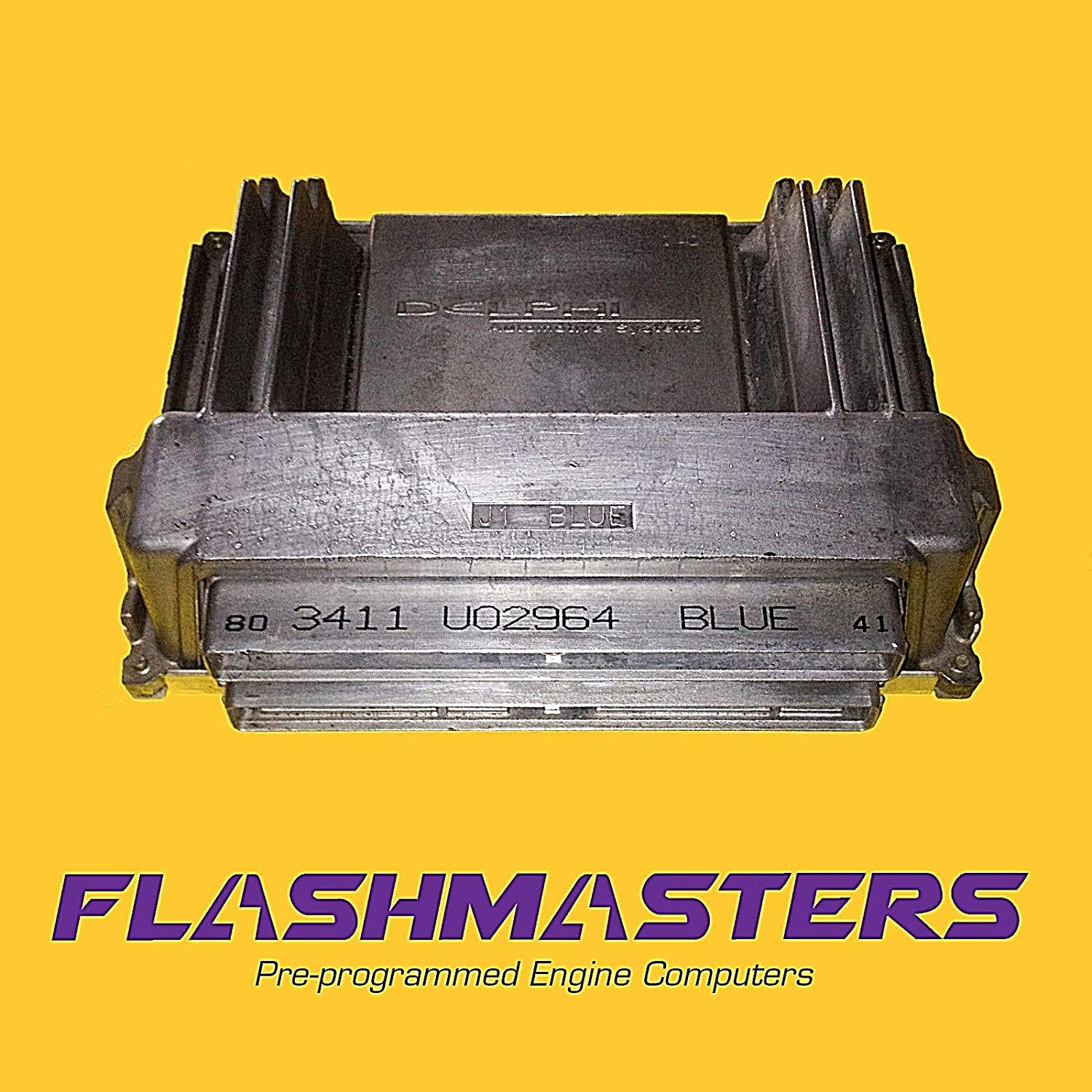 Flashmasters 2000 Oldsmobile Silhouette Engine Computer 9380717Programmed to Your VIN ECM