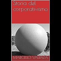Storia del corporativismo (Italian Edition) book cover