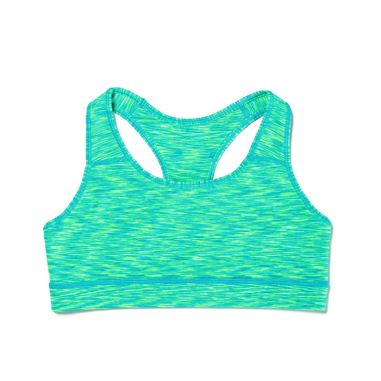 LAPASA Women's Sports Bra. Anti-Irritant Wide Straps, Mid-Impact Support L07