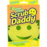 Scrub Daddy - Scratch Free FlexTexture Scrubber with Lemon Fresh Scent