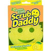 Scrub Daddy - Lemon Fresh FlexTexture® Scrubber - Scratch-Free & Odor Resistant - 1 Count