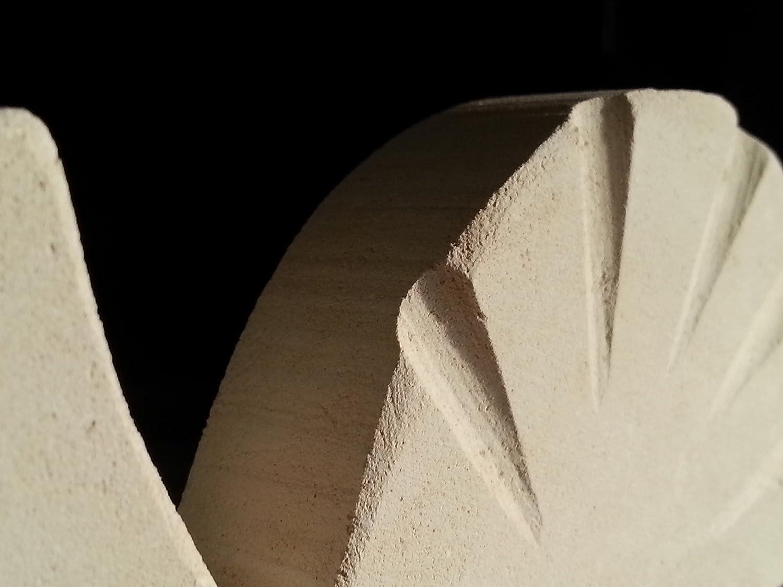 Simbolo di Guarigione Lumaca Fatta a Mano in Pietra con Frammenti Fossili Pazienza e Cambiamento Natale Compleanno Auguri Confezione Regalo e Bigliettino in Bianco Apprezzamento della Vita