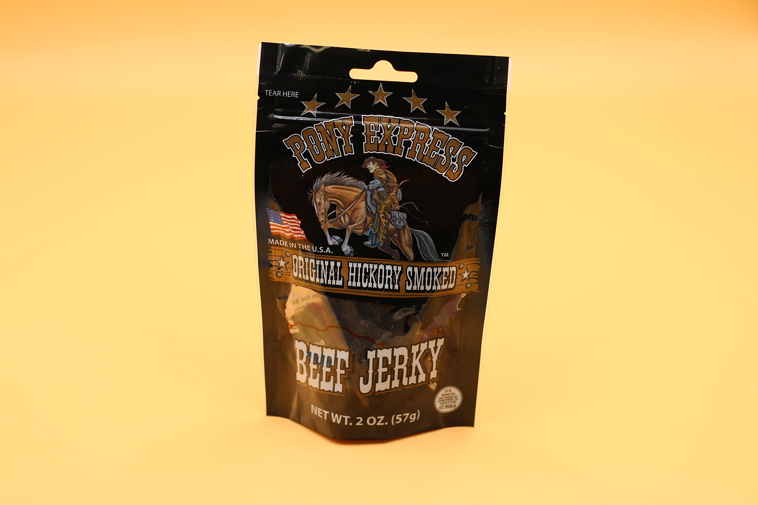 Original Beef Jerky (2 oz) by Pony Express Foods (Image #1)