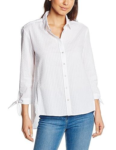 Pedro del Hierro Camisa Seersucker, Blusa para Mujer