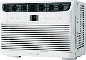 Frigidaire, White Energy Star 5,000 BTU 115V Window-Mounted Mini-Compact Air Conditioner with Full-Function Remote Control