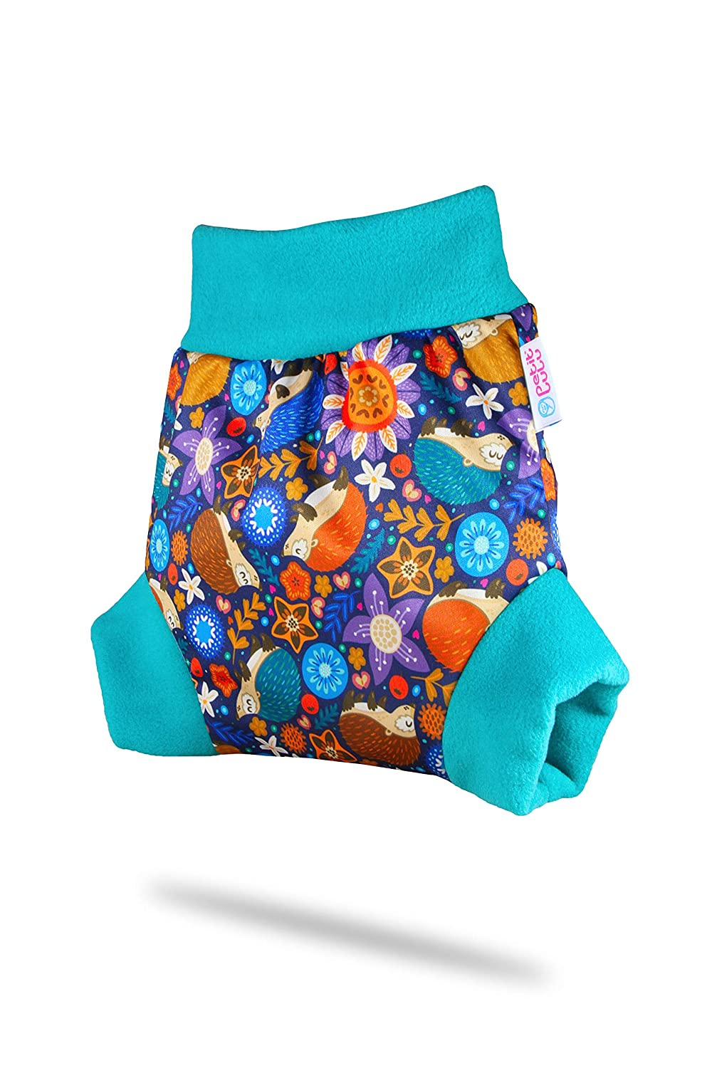 Made in Europe Petit Lulu Pull-Up Cloth Nappy Cover Sizes XS//S//M//L//XL Washable Diaper Wrap Rainbow Stars, Size S Cloth Nappies