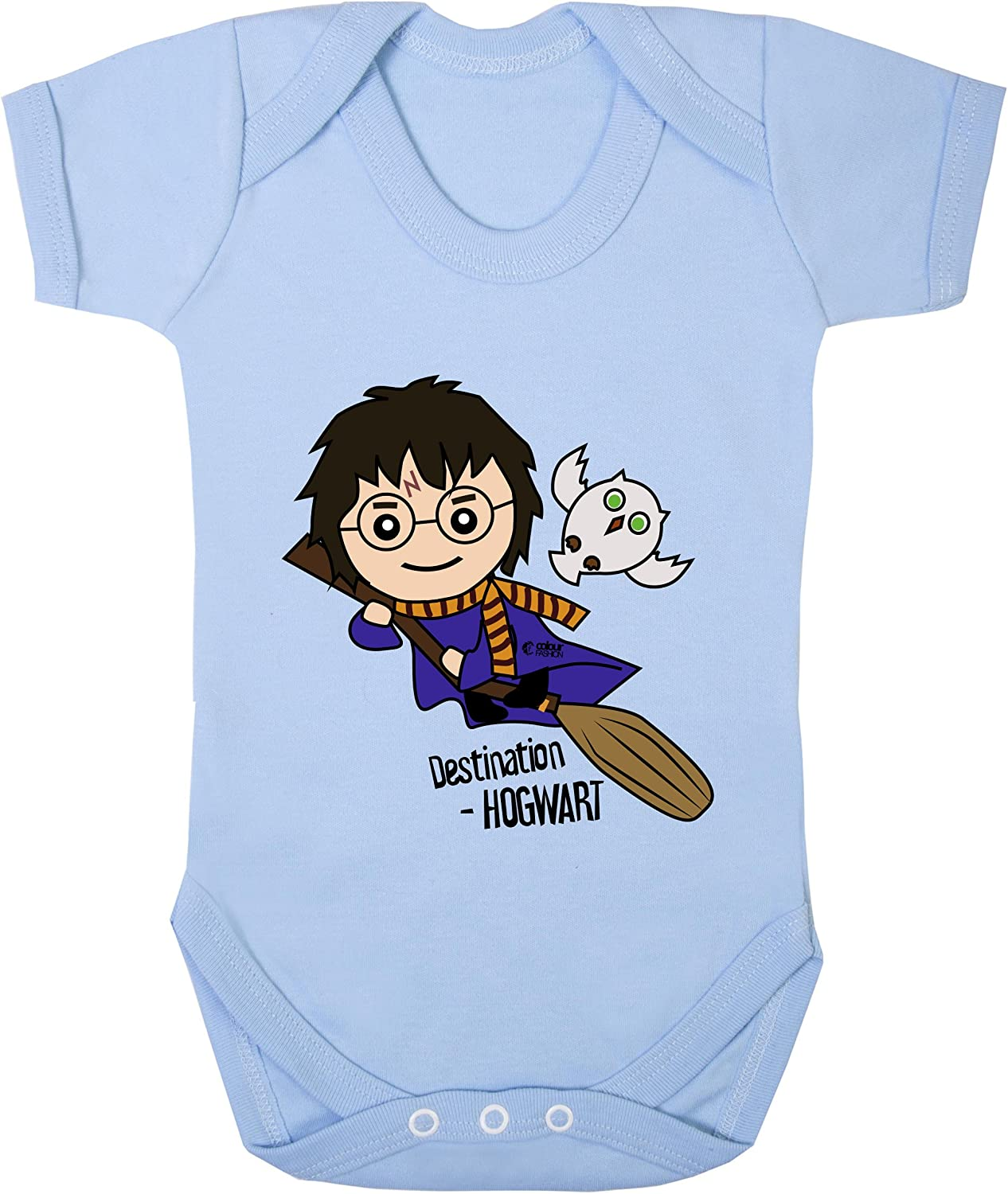 Uncanny Harry Potter with Owl Funny Print Costume Bodysuits 100/% Cotton 0-24