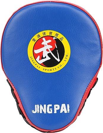 sparring artes marciales Guantes de boxeo curvados para entrenamiento de piel para artes marciales mixtas muay thai karate 1 pieza kick Gingpai