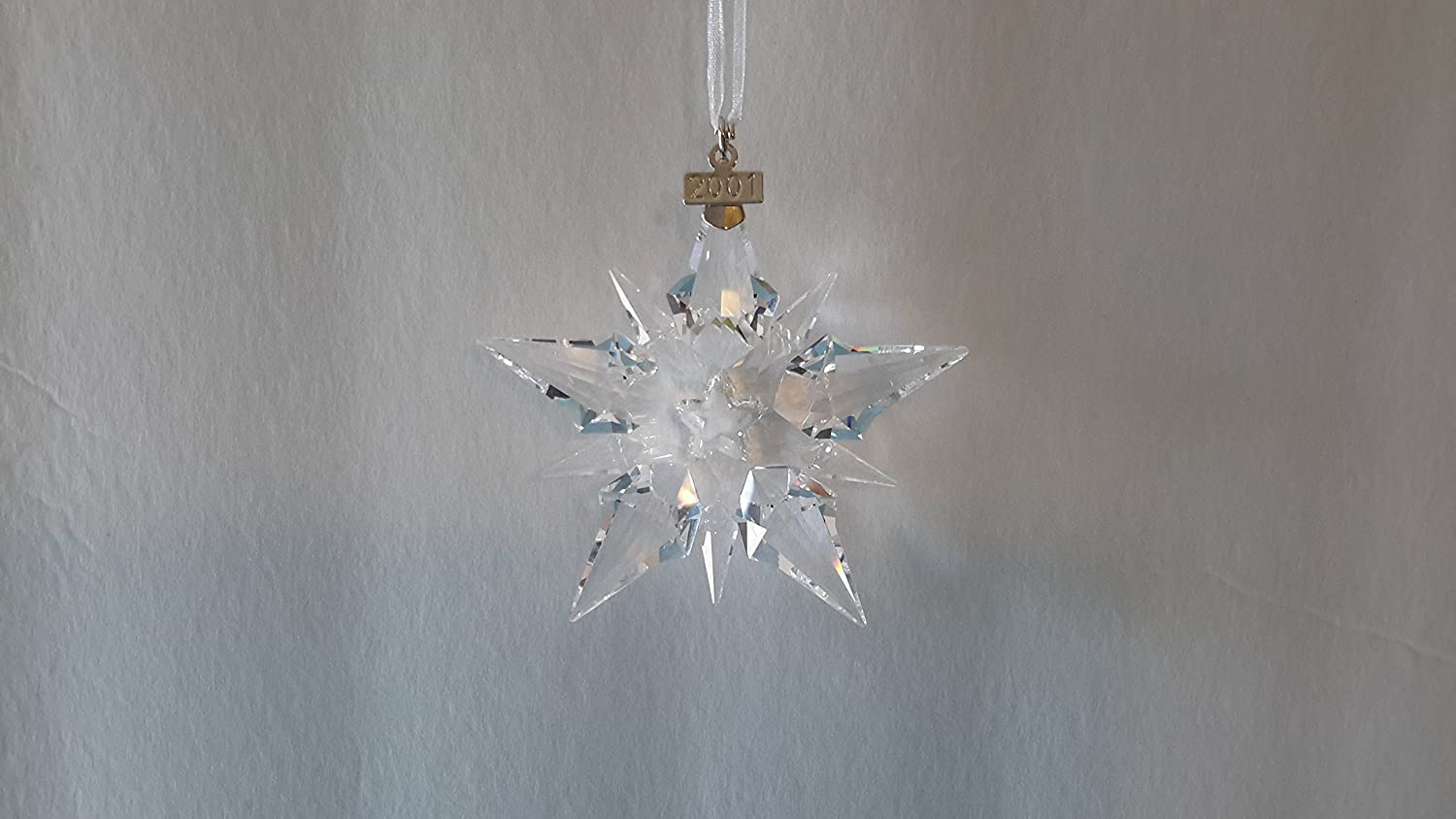 Swarovski christmas ornament 2004 - Amazon Com Swarovski 2000 Annual Christmas Snowflake Star Ornament Home Kitchen