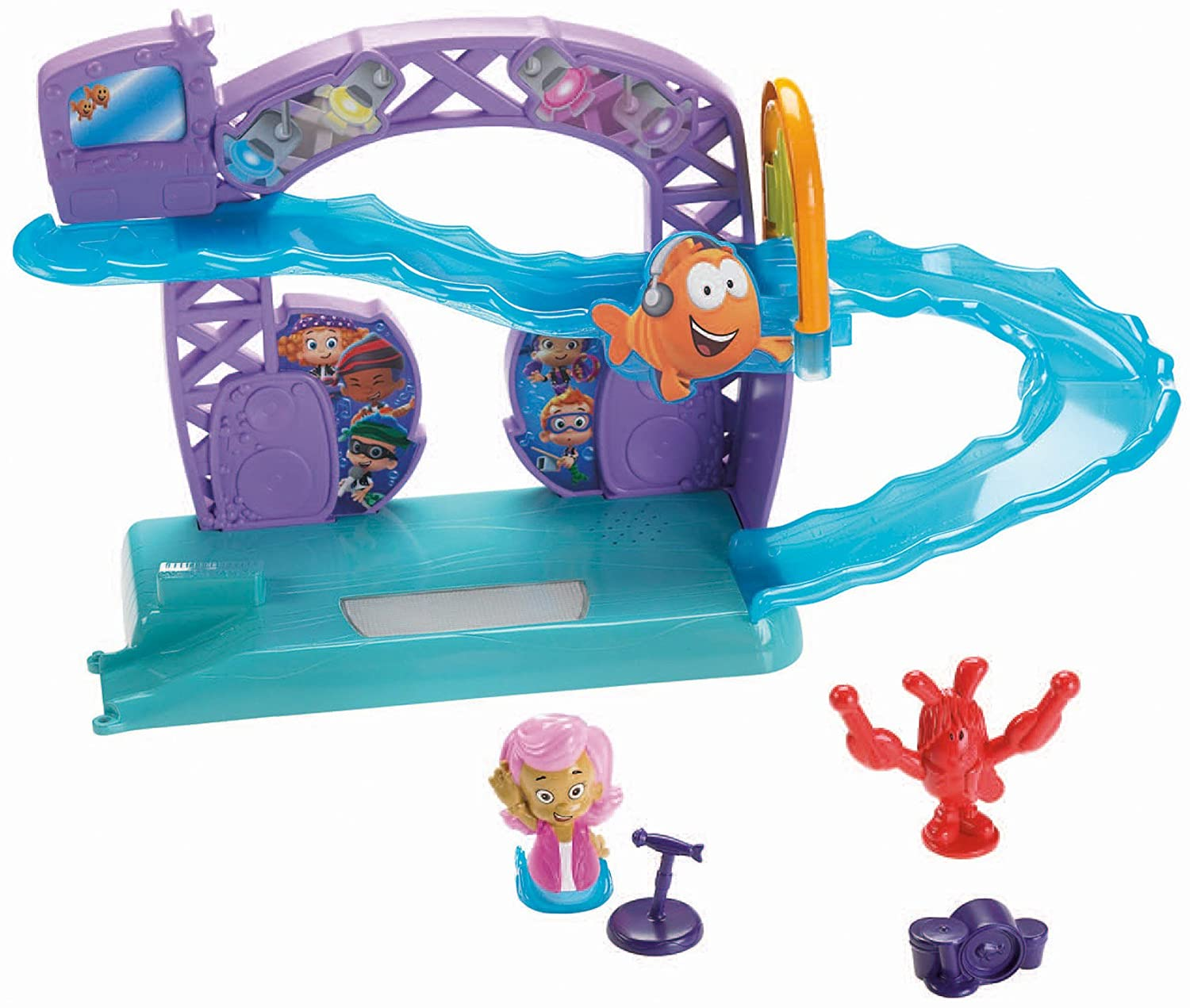 bubble guppies rock n roll stage amazon co uk toys u0026 games