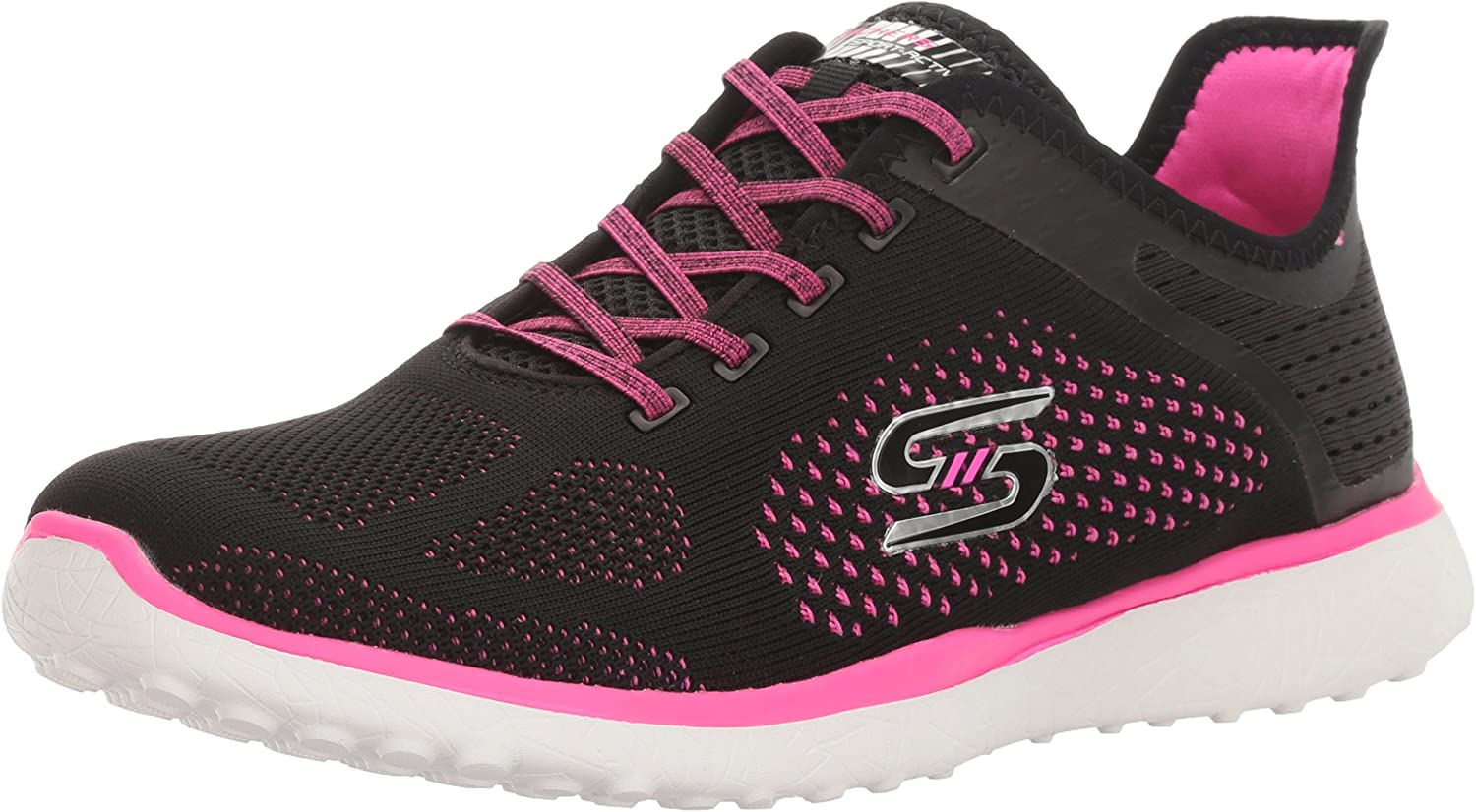 23327 MICROBURST SUPERSONIC Walking Shoes    17H Womens Skechers