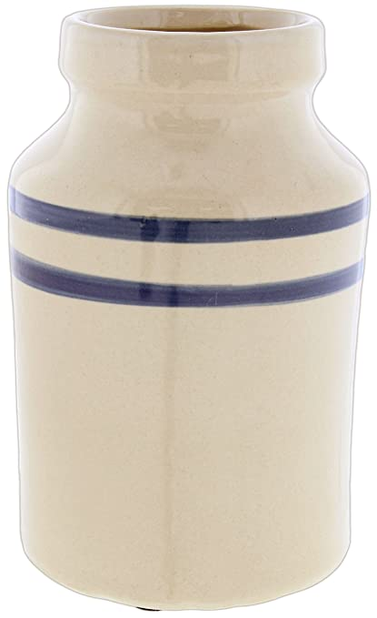 pd home beige blue ceramic vase - Pd Home And Garden