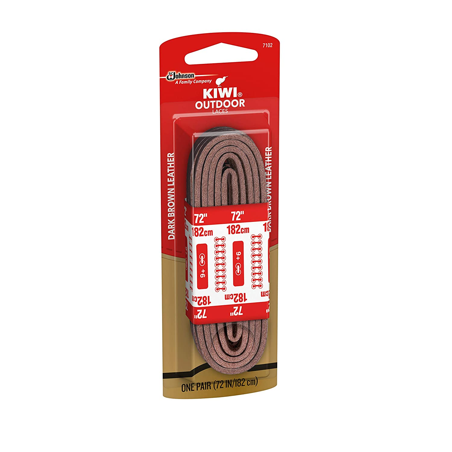 KIWI Outdoor Square Leather Laces