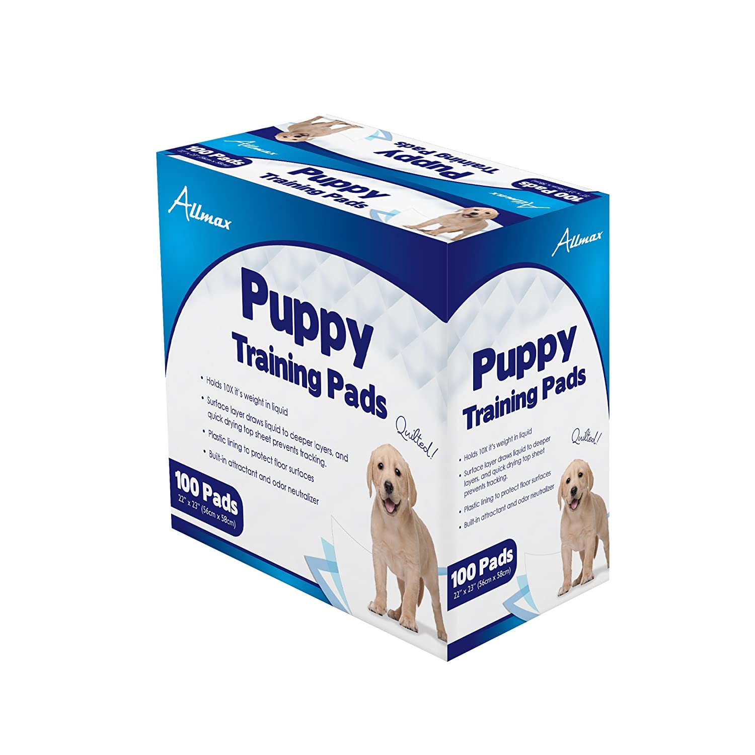 Allmax Puppy Training Pads 22 Inch By 23 Inch
