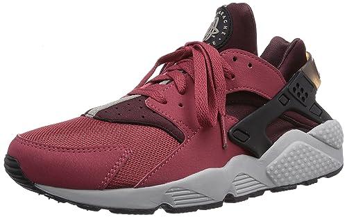 size 40 ade58 6598d Image Unavailable. Image not available for. Color  Nike Men s Air Huarache  , CEDAR BLACK-DEEP BURGUNDY ...