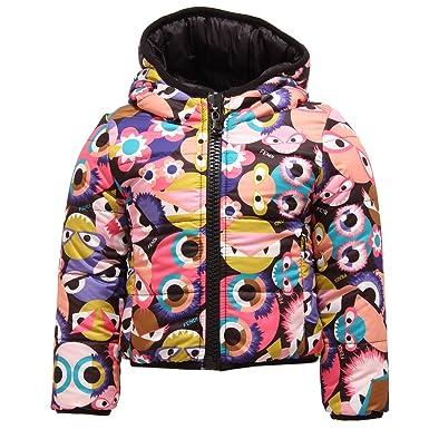 quality design 92bfa cceb9 Fendi 3118T piumino bimba girl MOSTRI REVERSIBILE jacket [2 ...