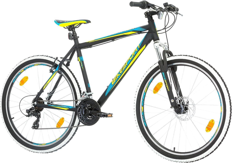 BIKE SPORT LIVE ACTIVE 27,5 Zoll Bikesport Attack Herren Fahrrad MTB Mountainbike Hardtail ALU Rahmen Shimano 21 Gang