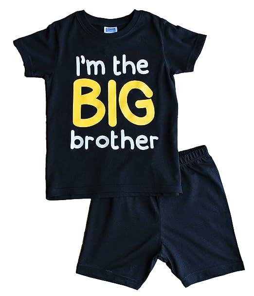I m The Big Brother – Carcasa regalo niños Boy algodón corto pijama Pjs pijama