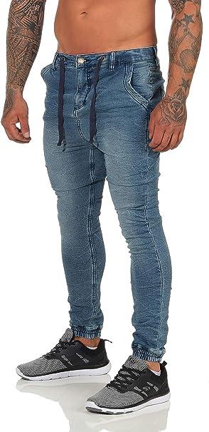 Sublevel Mens Denim Skinny Pants in Color