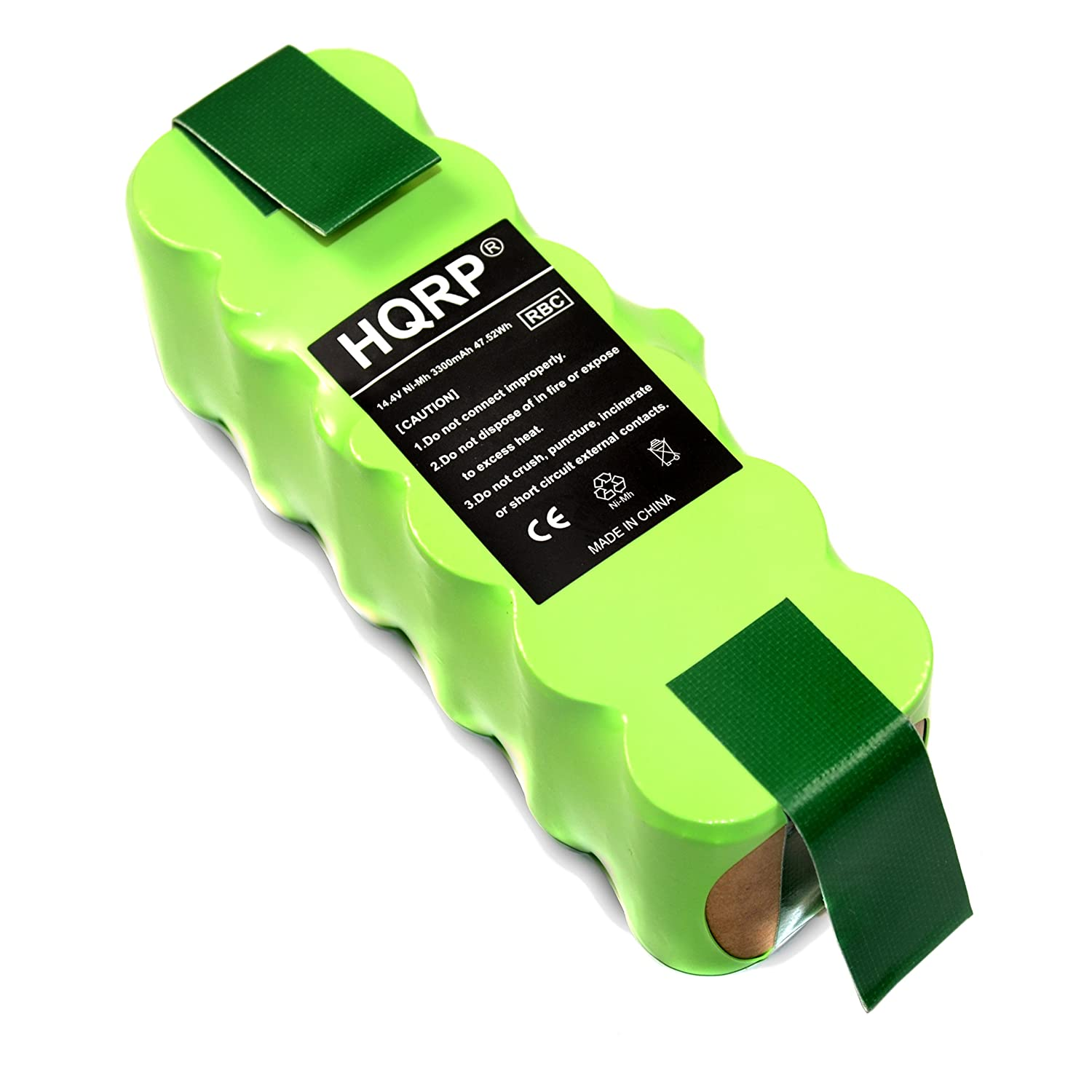 HQRP 3300mAh APS Battery for iROBOT Roomba 531/533 / 536/537 / 551/561 / 563/564 / 571/577 / 578/600 / 611/790; 800/880 Series [Vacuum Cleaning Robot] Replacement plus Coaster 887774109031380