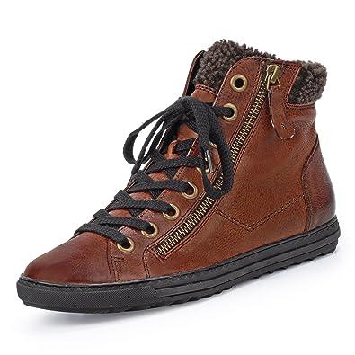 Paul Green Sneaker high VARIABEL, Farbe: Braun: