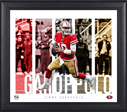 ae8d74d50 Jimmy Garoppolo San Francisco 49ers Framed 15 quot  x 17 quot  Player Panel  Collage - NFL