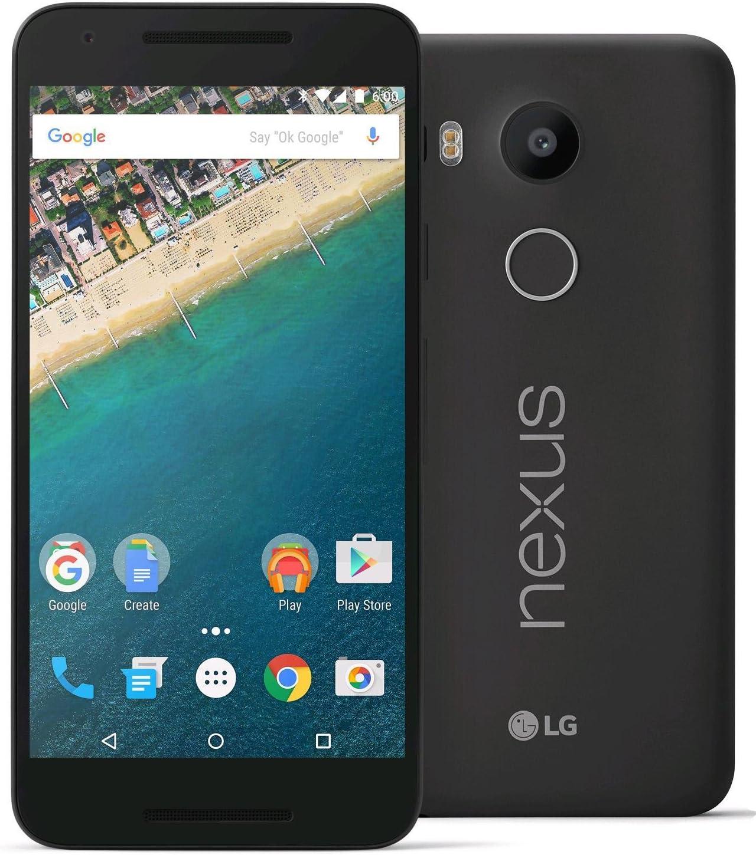 LG Nexus 5X Unlocked Smartphone with 5.2-Inch 32GB H790 4G LTE (Carbon Black)