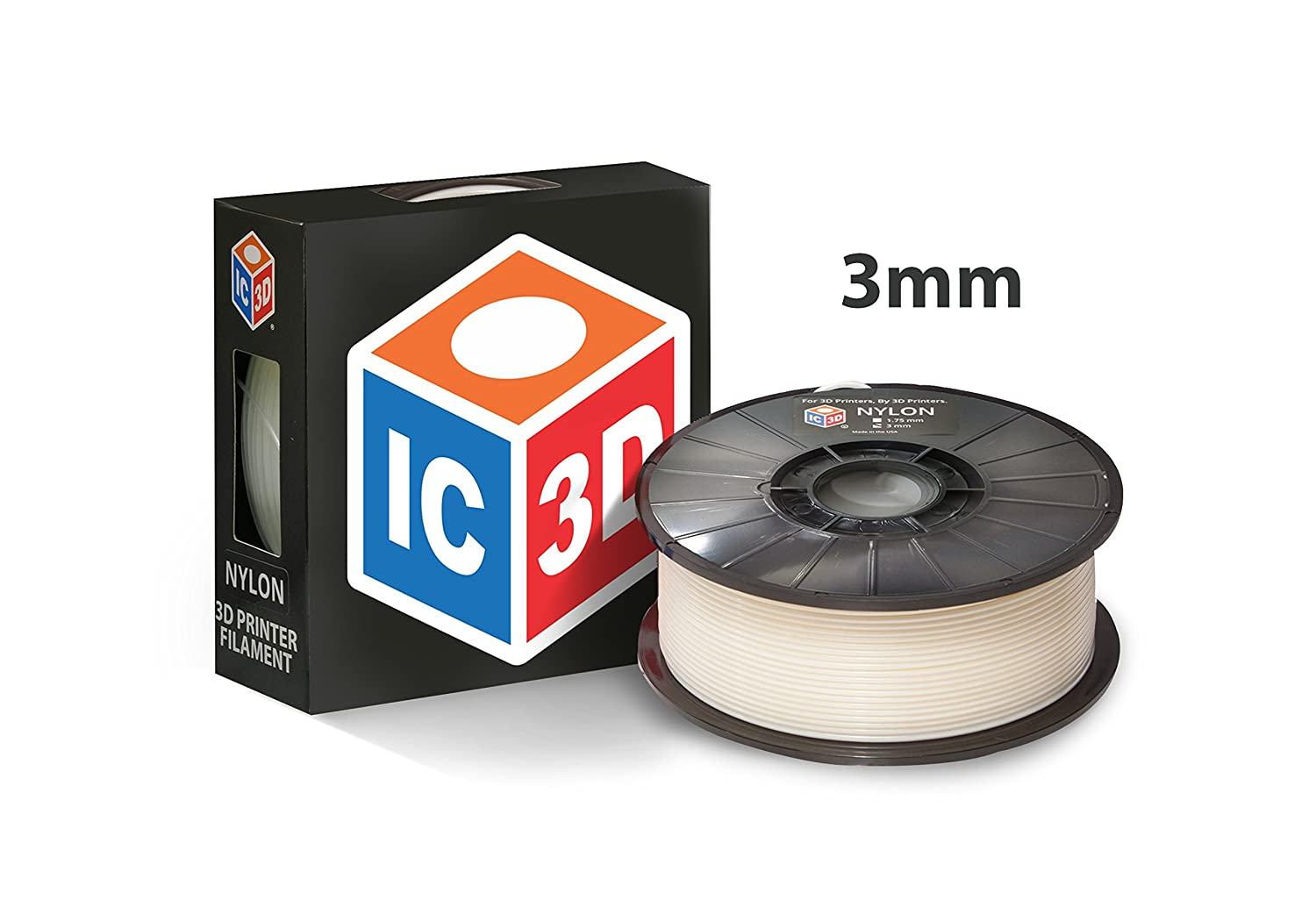 Amazon.com: ic3d filamento 3 mm Impresora 3d filamento de ...