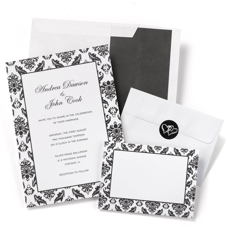 Amazon.com: Hortense B. Hewitt Wedding Accessories Print Yourself ...