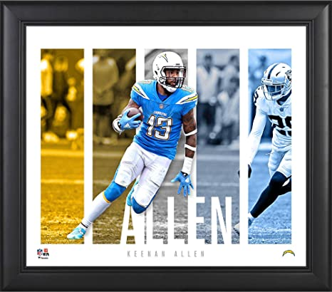 7170b17858b Keenan Allen Los Angeles Chargers Framed 15 quot  x 17 quot  Player Panel  Collage - NFL