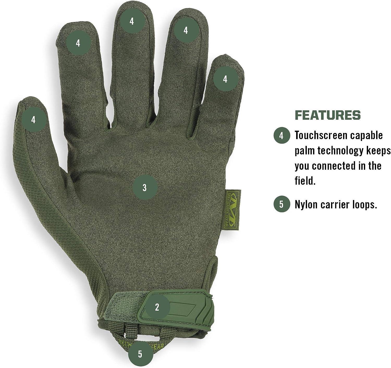 Mechanix Wear MG-60-008 Guanti Verde S