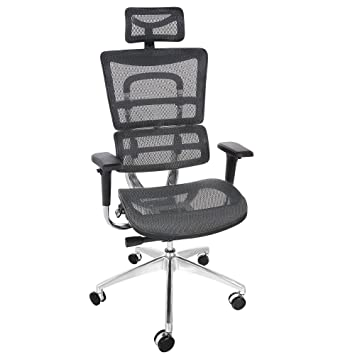 ancheer ergonomic executive mesh office chairs with adjustable