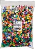 edx education 53909 Cubos de construcción, 1 cm, 1000 unidades