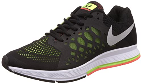 fc422e1c6b2d Image Unavailable. Image not available for. Colour  Nike Men s Air Zoom  Pegasus 31 Black Running Shoes ...