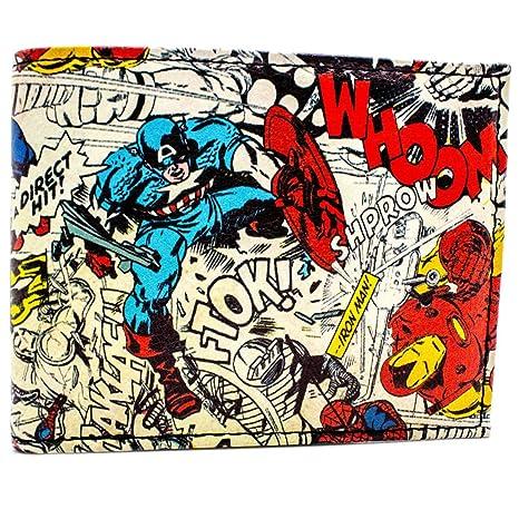 Cartera de Marvel Avengers de personajes de cómic Blanco