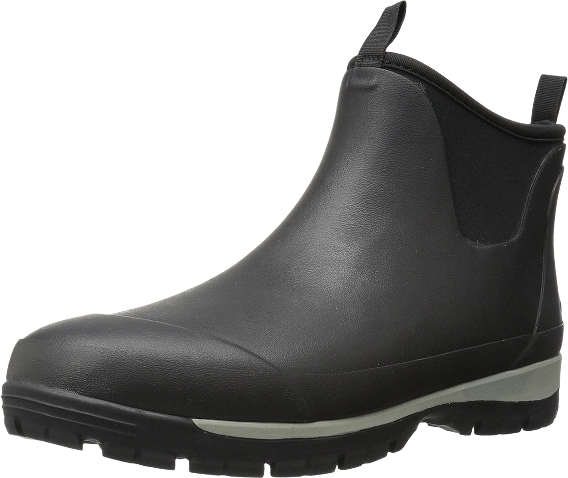 Kamik Men's LarsLO Rain Boot, Black, 10 Medium US
