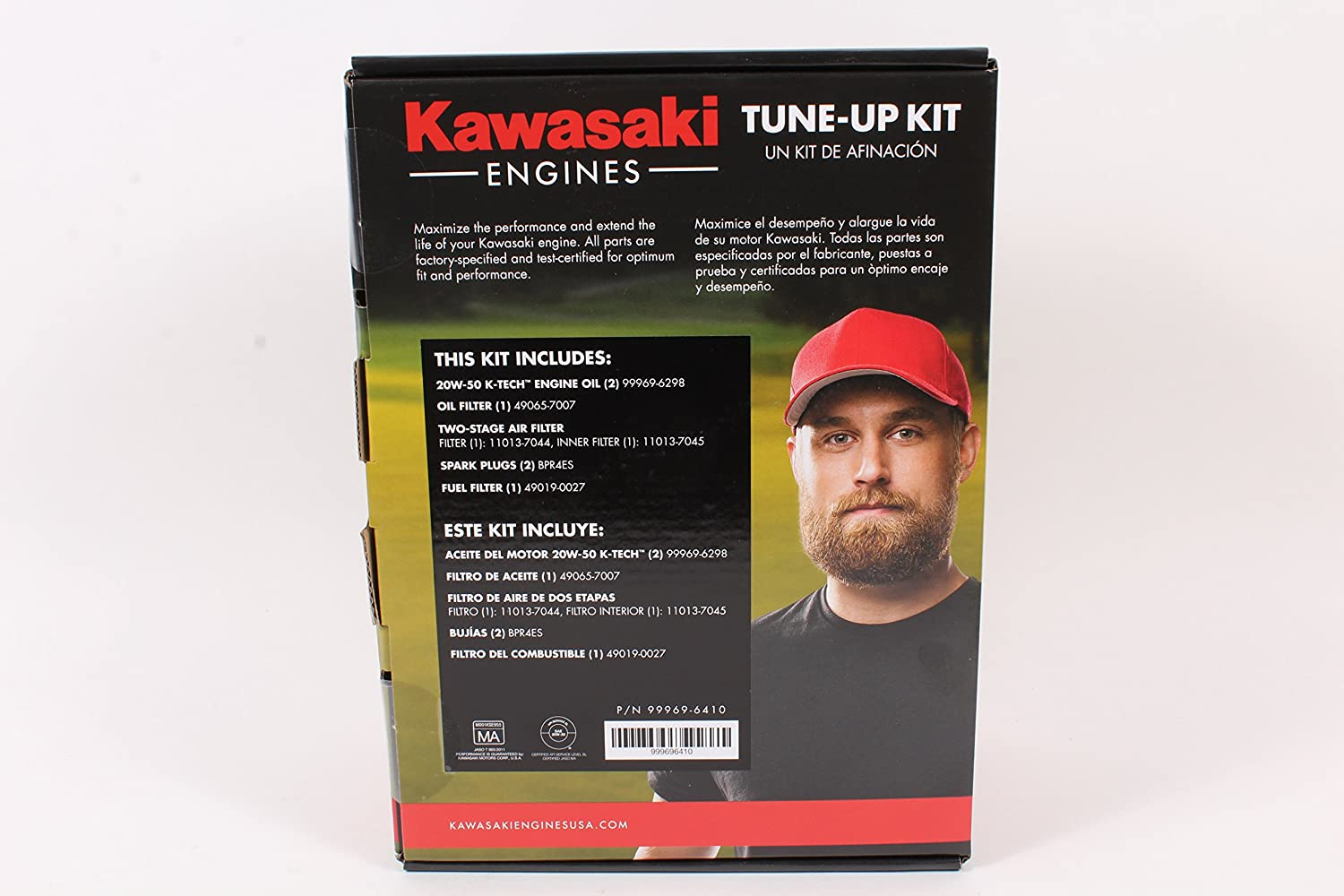 Amazon.com : Kawasaki Genuine 99969-6410 Tune Up Kit For FX651V FX691V FX730V 20W-50 : Garden & Outdoor
