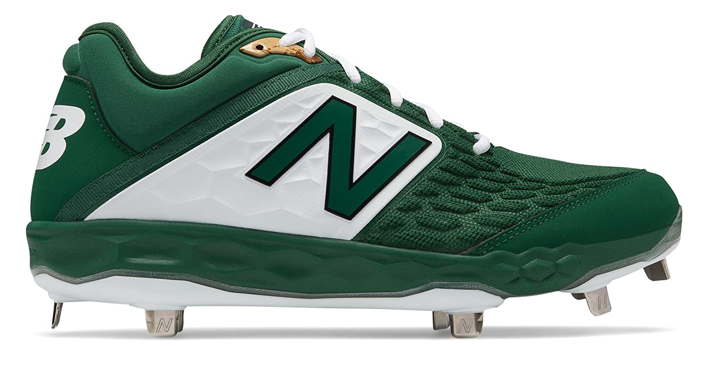 [New Balance(ニューバランス)] 靴シューズ メンズ野球 3000v4 Metal Green with White グリーン ホワイト US 17 (35cm) B07FRZ6FL2